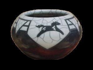 bowl horse trans